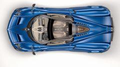 Pagani Huayra Roadster: il tetto in vetro/carbonio