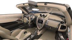 Pagani Huayra Roadster: l'abitacolo riprende lo stile della coupé