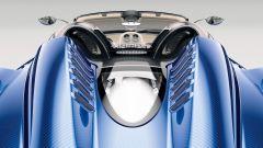 Pagani Huayra Roadster: le pinne posteriori