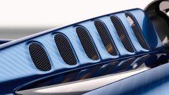 Pagani Huayra Roadster: le prese d'aria sulle pinne posteriori