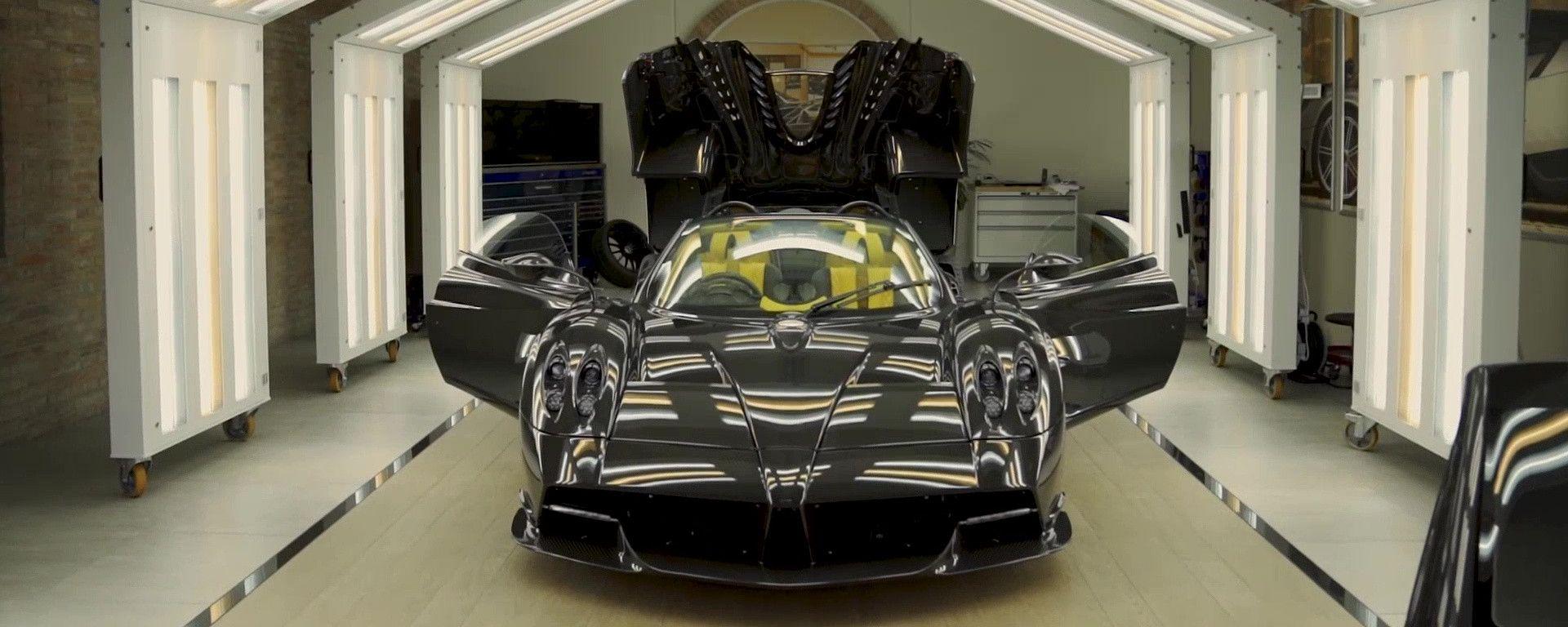 Pagani Huayra Roadster: l'ultimo esemplare