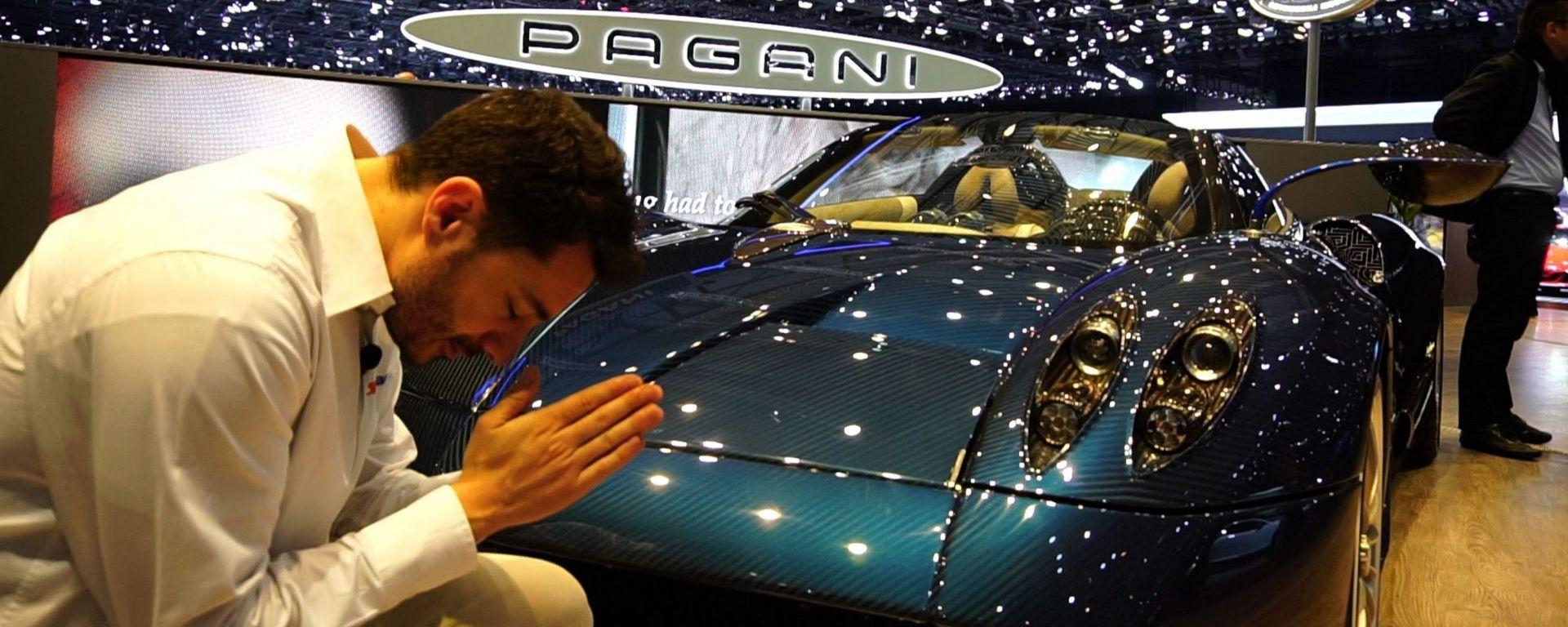 Pagani Huayra Roadster, Salone di Ginevra 2017, live dallo stand