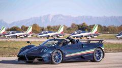 Pagani Huayra Tricolore, Roadster acrobatica. Hai 6 milioni? - Immagine: 2