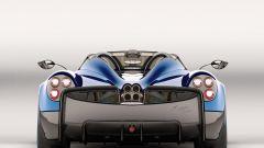Pagani Huayra Roadster: vista posteriore