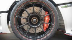 Pambuffetti PJ-01: le ruote e i freni carboceramici