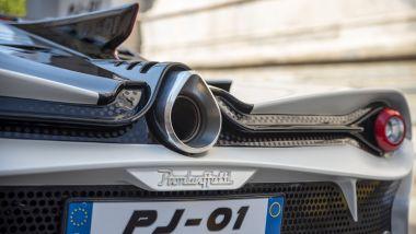 Pambuffetti PJ-01: lo scarico posteriore