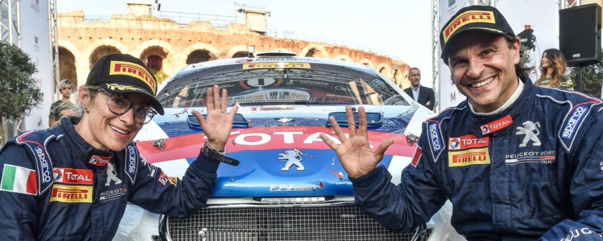 Paolo Andreucci e Anna Andreussi ancora con Peugeot per il prossimo anno