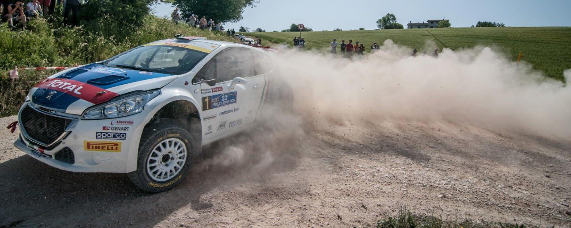 Paolo Andreucci e Anna Andreussi - Campionato Italiano Rally