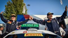 Rally delle Due Valli 2018: Andreucci su Peugeot vince un altro titolo