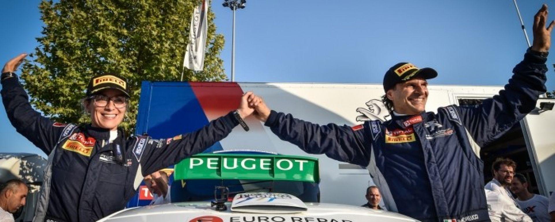 Paolo Andreucci e Anna Andreussi vincono l'undicesimo titolo italiano Rally