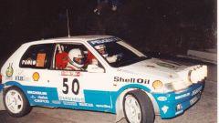 Paolo Andreucci e la sua Peugeot 106 XSI 1.6 Gr.A
