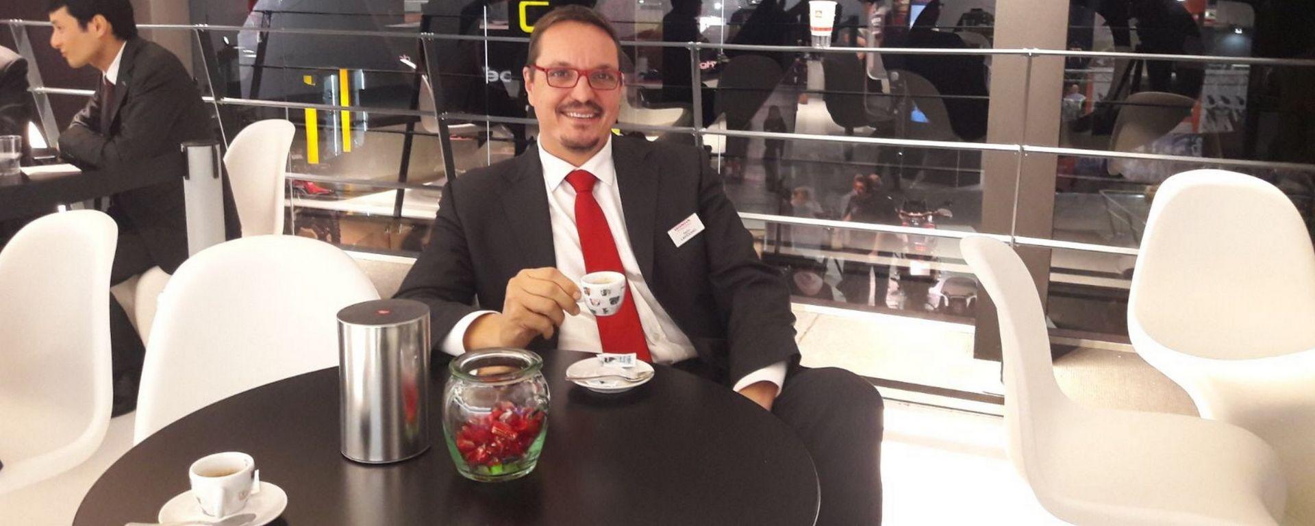 Paolo Cartolano, Communication Manager Honda Motor Europe Ltd. Italia