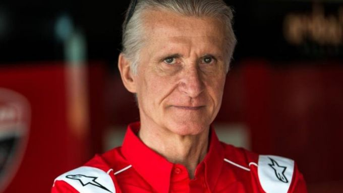 Paolo Ciabatti, responsabile dell'attività in pista Ducati