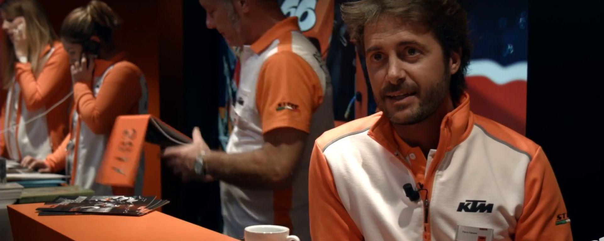 Paolo Fabiano, Marketing Manager KTM Italia