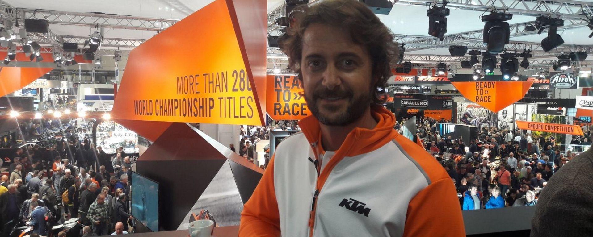 Paolo Fabiano, PR & Marketing Manager Italy