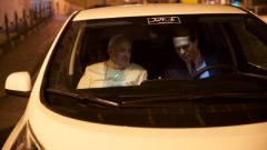 Papa Francesco a bordo della Nissan Leaf