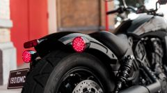 Parafango accorciato per la Indian Scout Bobber Sixty
