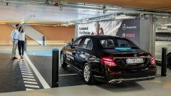Parcheggio autonomo: il ritiro dell'auto