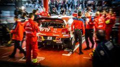 Parco assistenza Citroen racing - Citroen Total World Rally Team Rally Tour de Corse Wrc 2019