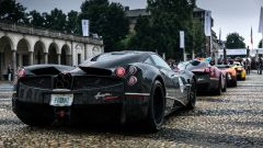 Parco Valentino Salone Auto Torino 2019: il lato B di una Pagani Huayra