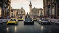 Parco Valentino Salone Auto Torino 2019: supercar in parata