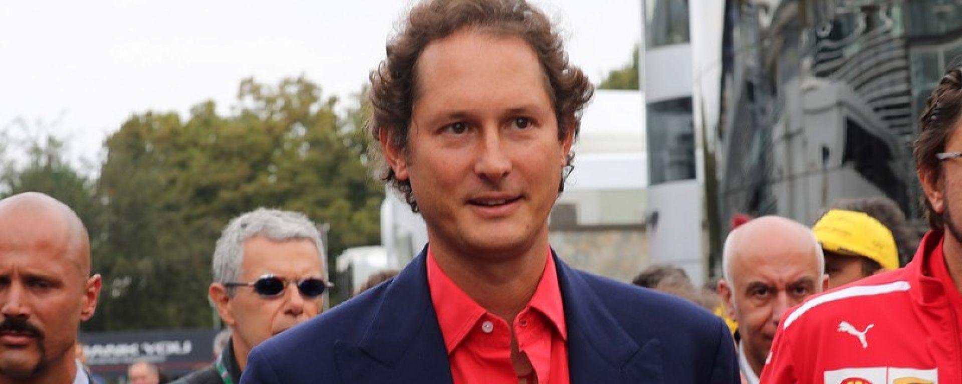 """Parla John Elkann: """"Con Binotto Ferrari più forte"""""""