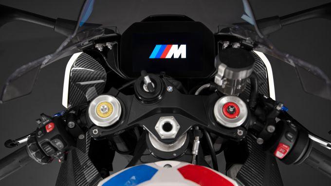 Parte anteriore della BMW M 1000 RR