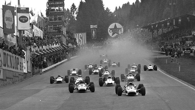 Partenza del Gran Premio del Belgio 1968 - Copyright F1Fanatic