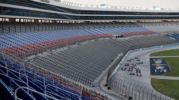 Partenza gara 2020 Dallas