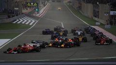 Partenza GP Bahrain 2017