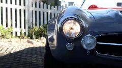 Particolare del frontale della Mercedes 300 SL di John Sarkisyan