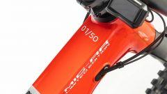 Particolare del manubrio della Ducati MIG-RR Limited Edition