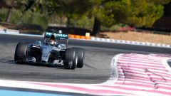 Pascal Wehrlein in pista con Mercedes