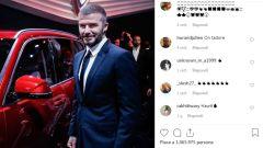 Patente sospesa per David Beckham
