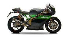 Paton S1R 60°Anniversario: la moto di Dunlop con targa e fari - Immagine: 2