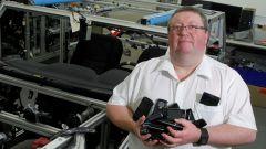 Patrick Keenan, a capo del team che curerà il grado di connettività delle Nissan