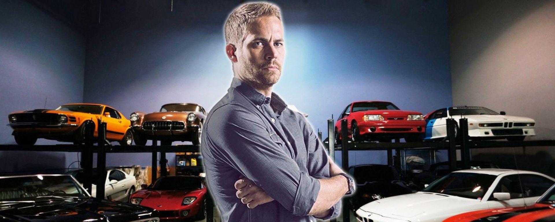 Paul Walker: all'asta la collezione di auto dell'attore