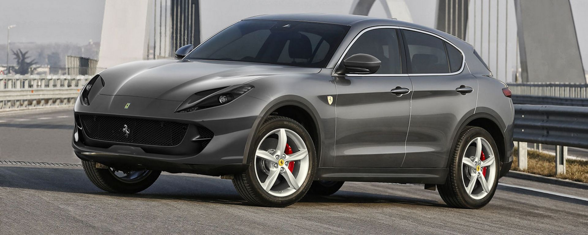 Per ammirare dal vivo il primo SUV Ferrari bisognerà aspettare almeno altri due anni