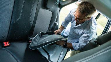 Per fortuna Ford Puma Titanium X ha i sedili facilissimi da sfoderare