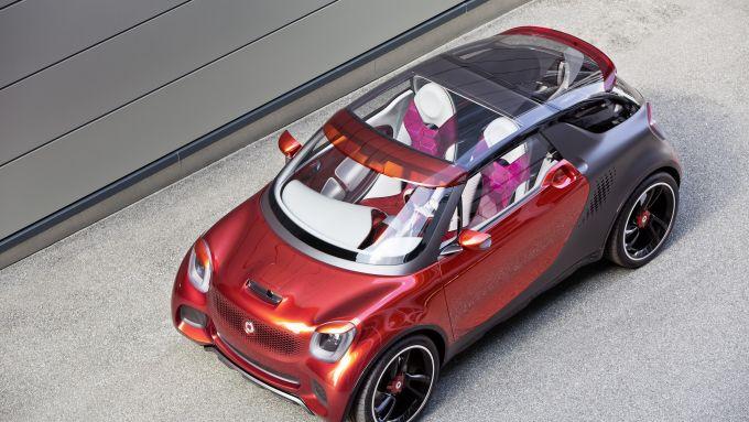 Per il futuro SUV Smart si ipotizzano dimensioni da ''grande''