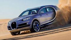 Per il Suv, Bugatti pescherebbe dalla banca organi Volkswagen