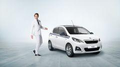 Peugeot 108 Collection: la versione con carrozzeria Bianco Lipizan