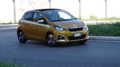 Peugeot 108: la prova dei consumi  - Immagine: 3