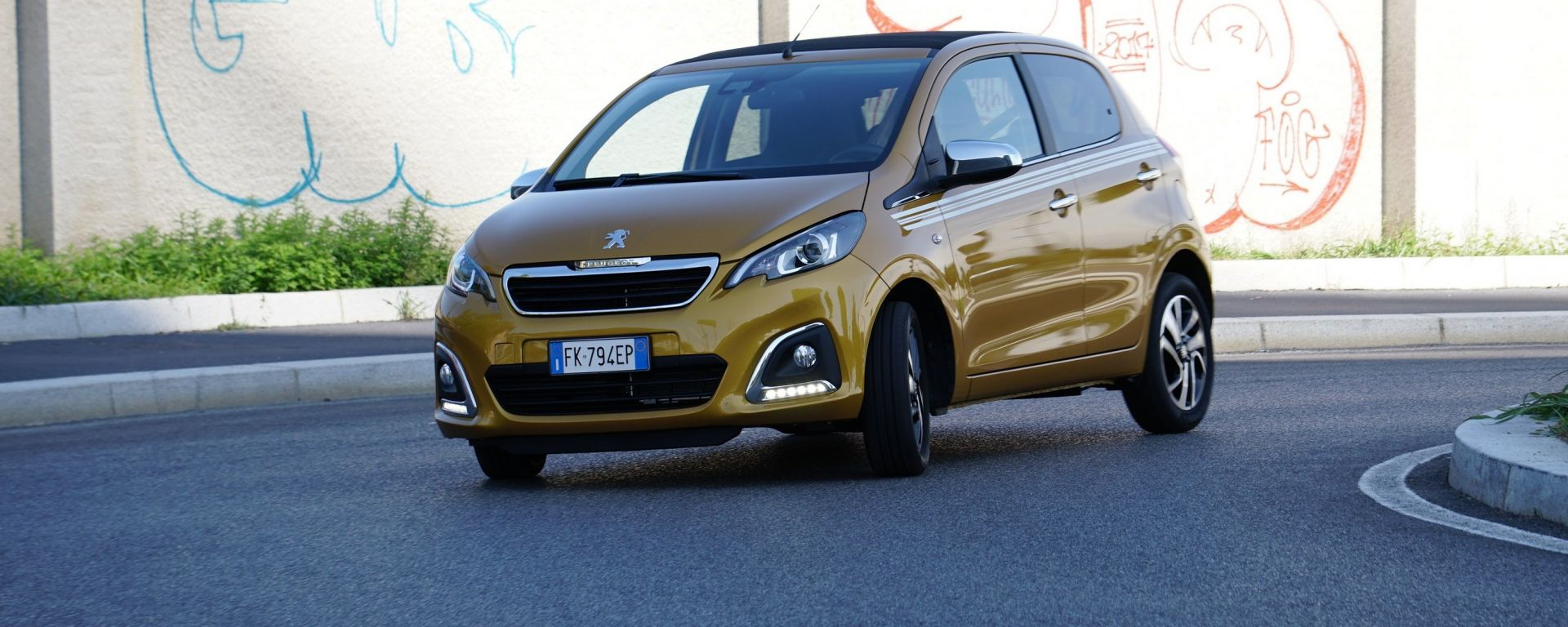 Peugeot 108: la prova dei consumi