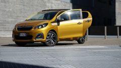 Peugeot 108: compatta ma spaziosa
