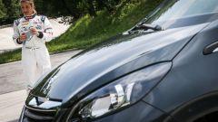 Peugeot 108 e Andreucci in pista alla cieca - Immagine: 7