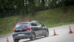 Peugeot 108 e Andreucci in pista alla cieca - Immagine: 9