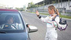 Peugeot 108 e Andreucci in pista alla cieca - Immagine: 48
