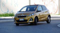 Peugeot 108: il futuro elettrico potrebbe essere su base Fiat 500e
