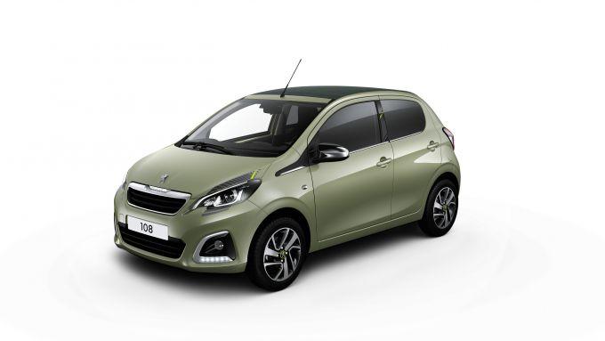 Peugeot 108 il nuovo colore Smooth Green metallizzato